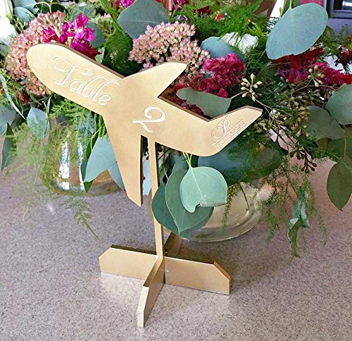 Wedding Table Numbers - Pilot Airplane Selling and Max 59% OFF selling Wed Travel