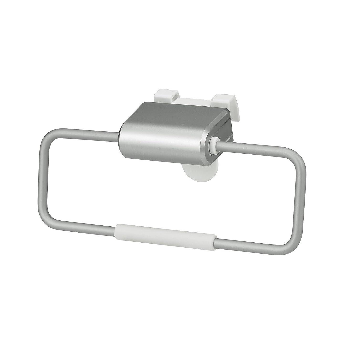 レック SG ライン取っ手対応 ドア用 タオルリング ( 引っ掛け取付け ) KK-193