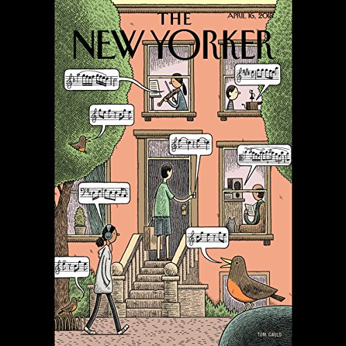 The New Yorker, April 16th 2018 (Andrew Marantz, Louisa Thomas, Gary Shteyngart) copertina
