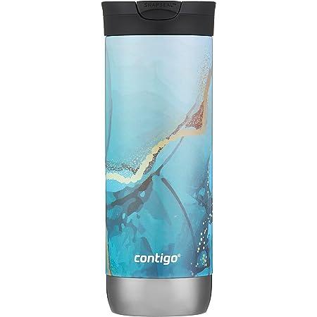Contigo Couture Huron 2.0 Travel Mug, 20 Ounce, Translucent Flower