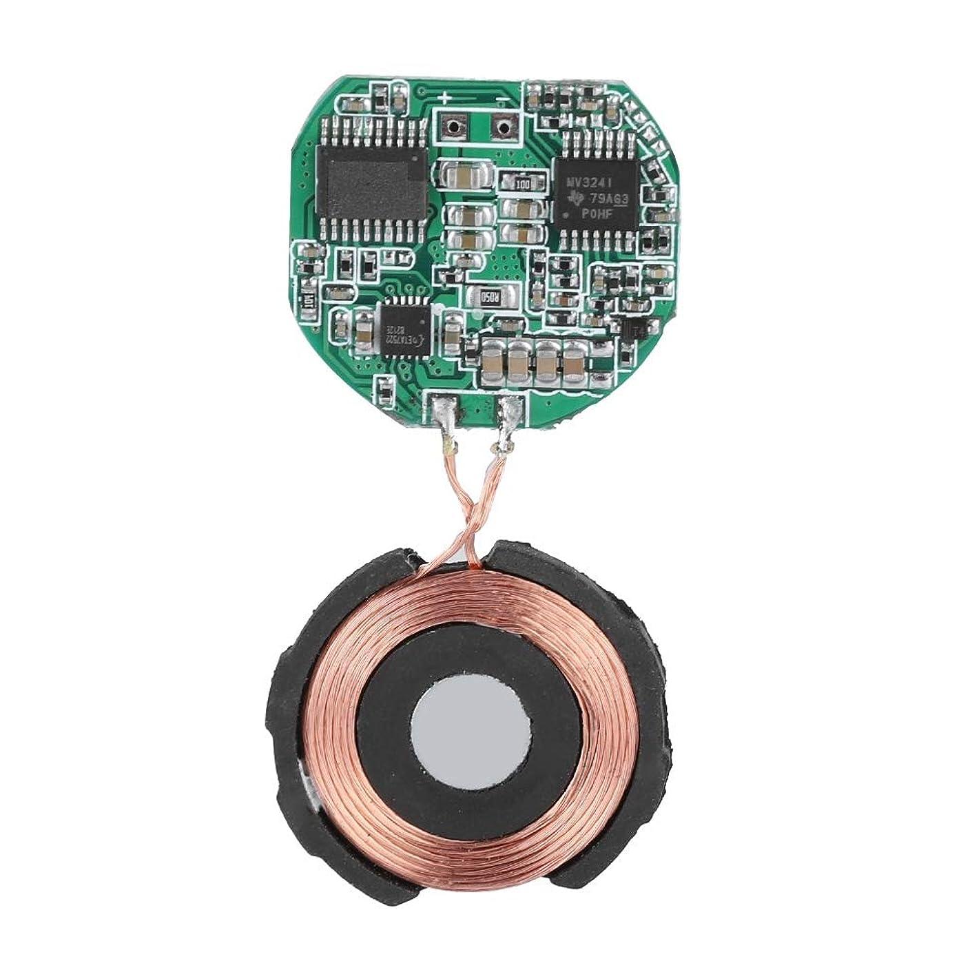 マングル有望再撮りFosa iWatchのためのDIY Qiの無線充電器 サーキットボードのコイル5V 1Aの充電モジュール1 2 3 4