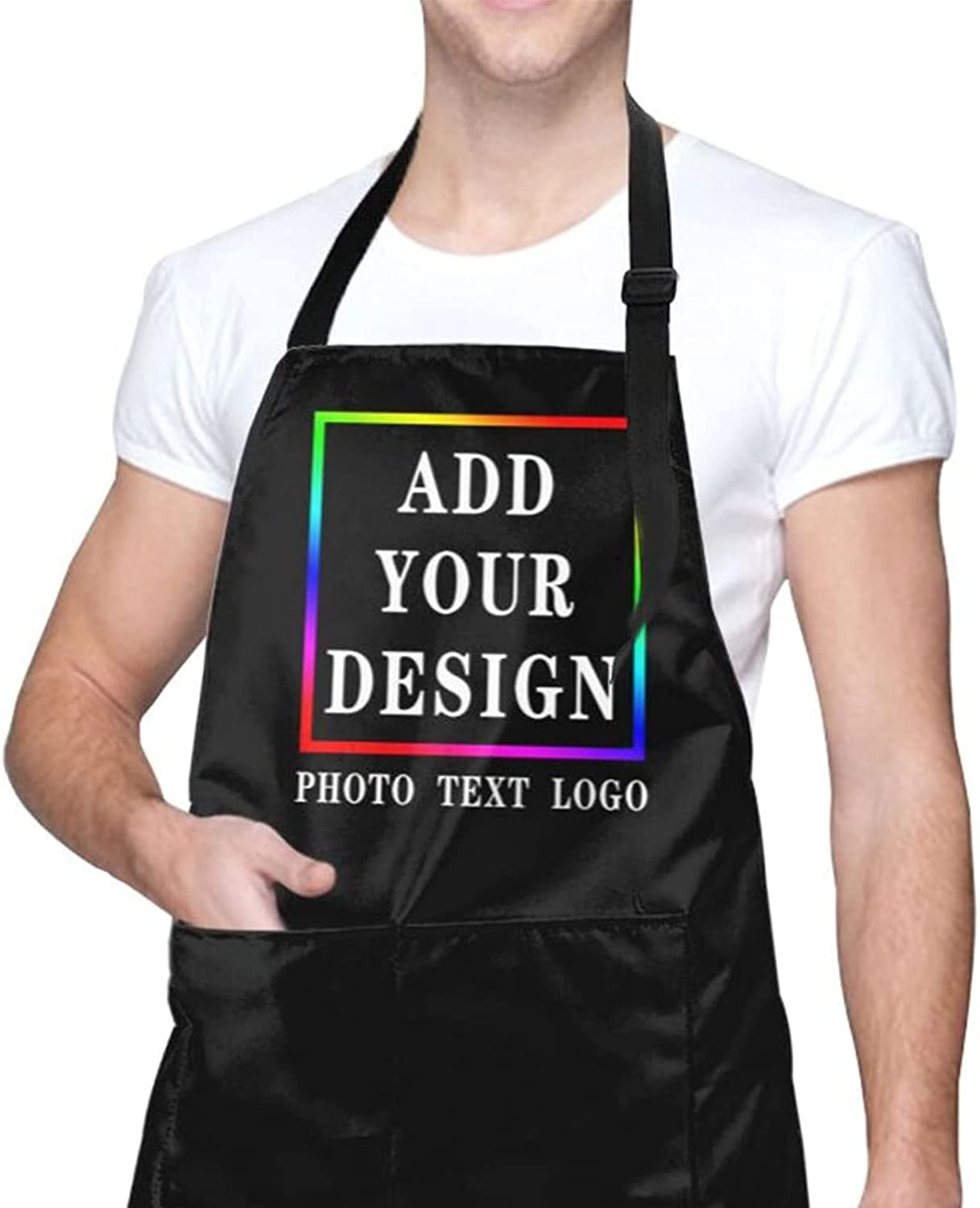 Personalized Custom Apron For Women Men Direct sale of manufacturer Kitchen C Cooking Aprons Max 76% OFF