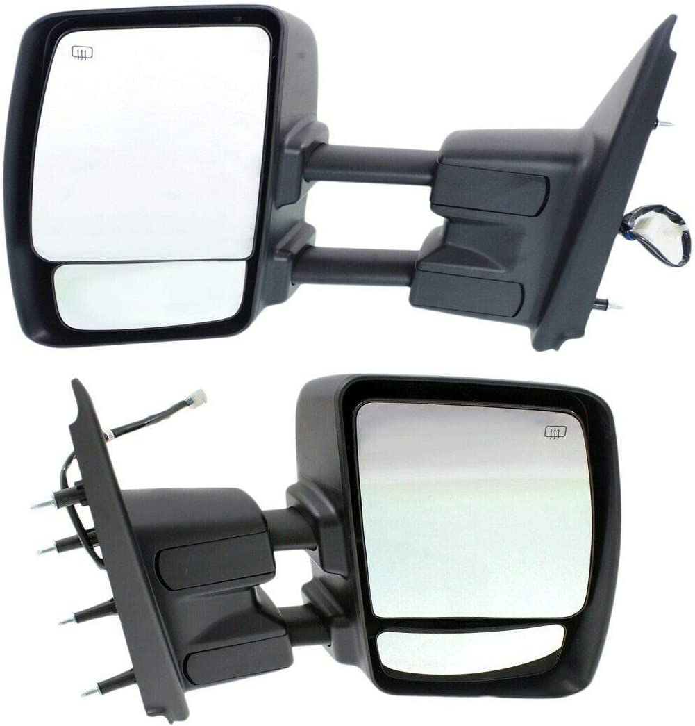 cskj Set of National uniform free shipping 2 Towing Mirror Left and with National products Right Compatible Power
