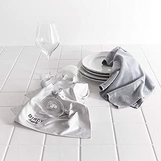 BIRDY. Supply 2度拭きいらずのキッチンタオルと拭けばピカピカのグラスタオル キッチンタオル1枚+グラスタオル1枚セット 716610