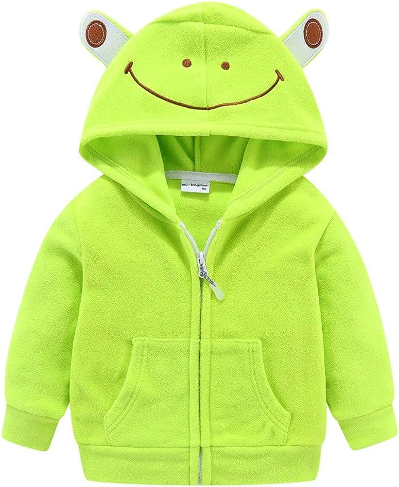 Mud Kingdom Cute Little Boy Fleece with Jacket Direct sale of manufacturer Arlington Mall Hood