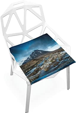 gaopeng Seat Cushion Chair Cushions Covers Set Ice Mountain Decorative Indoor Outdoor Velvet Double Printing Design Soft Seat Cushion 16 x 16