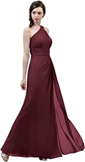 Best burgundy bridesmaid dresses chiffon Reviews