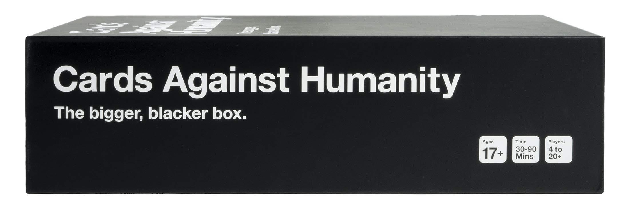 Cards Against Humanity: The Bigger, Blacker Box: Amazon.es: Juguetes y juegos