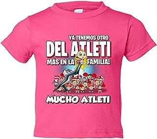 Amazon.es: Atletico de Madrid - Rosa / Camisetas de manga corta ...