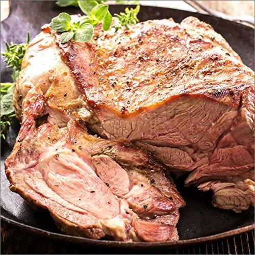 ラム肉 ブロック 約1kg (ショルダー/冷凍品) ジンギスカン 業務用 ラム 羊肉 塊 肉 千歳ラム工房 肉の山本