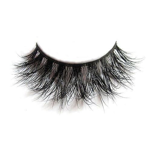 fcd047e8cd4 3D Mink Fur Fake Eyelashes 100% Siberian Mink Fur Hand-made False Lashes 1