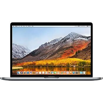 Apple 15.4in MacBook Pro Laptop (Retina, Touch Bar, 2.6GHz 6-Core Intel Core i7, 16GB RAM, 512GB SSD Storage) Space Gray (MR942LL/A) (2018 Model) (Renewed)