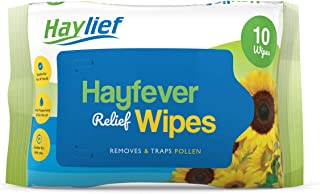 Haylief Hayfever & Allergy Relief Wipes (2