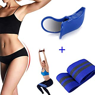 Premium Super Kegel and Resistance Bands for Legs and Butt - Pelvic Floor Muscle and Inner Thigh Exerciser