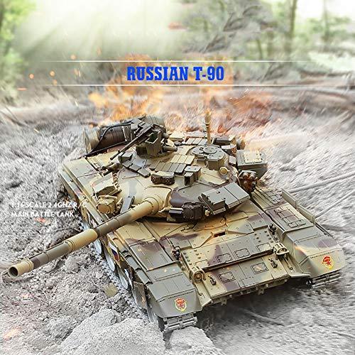Deliya RC Ferngesteuerter Panzer Mit Integriertem Schusssimulation, Sound Und Beleuchtung