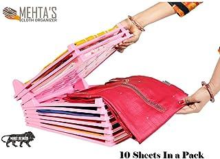 Mehta's Cloth Organizer Effortless Closet Drawer Kurta/Salwar Suit Tray 10 sheets