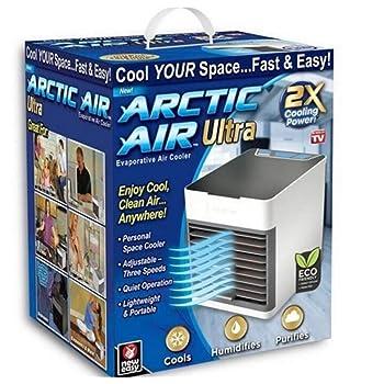 YQ Arctic Air Air Cooler X2, Tres en uno para enfriamiento y ...