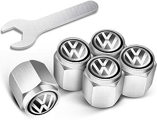 Tappi antipolvere per pneumatici auto bici colore: argento camion per auto Homo Trends in alluminio SUV moto