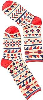SXY 10 Pares Calcetines de Hombre Calcetines de algodón Pintura Abstracta Algodón Medias Medias Código de Hombre Calcetines de Personalidad (Color : B)