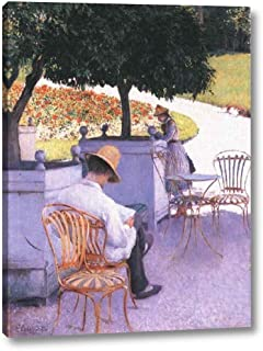 The Orange Trees by Gustave Caillebotte - 14