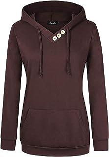 cea1f15075166e AMZ PLUS Women Plus Size Lightweight Full Zip Up Hooded Sweatshirt Hoodie  Jacket