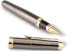 GiftTree Custom Engraved Bettoni Pen   Personalized Brass Rollerball Pen Gift   Custom Refillable Ballpoint Pen   Elegant Gift for Co-worker or Boss, Promotion or Graduation
