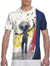 Steven Wilson Drive Home Camiseta de Manga Corta Holgada y Transpirable para Hombre
