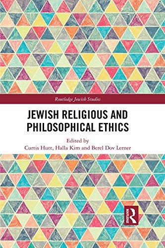 Jewish Religious and Philosophical Ethics (Routledge Jewish Studies Series)