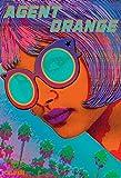 Agent Orange–Full Color Sorte Art Poster, mit
