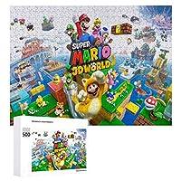 Super Mario Bros ジグソーパズル 1000ピース 絵画 学生 子供 大人 向け 木製パズル TOYS AND GAMES おもちゃ(6歳以上が適しています)