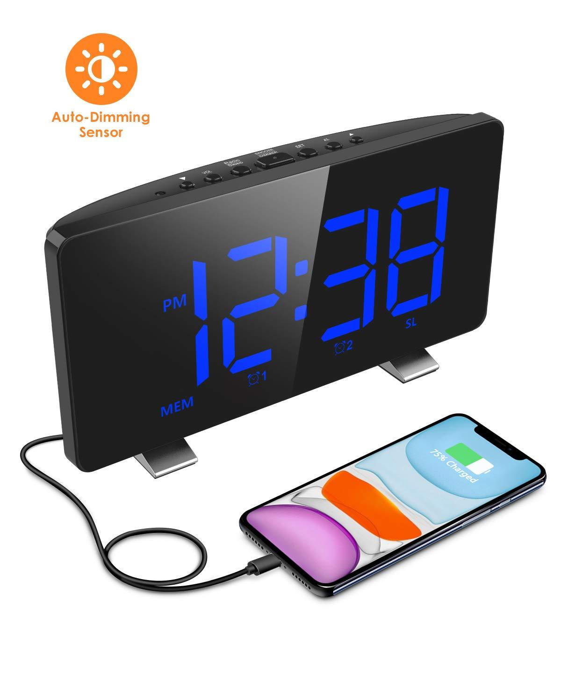 ELEGIANT Bedrooms Charging Brightness Automatic