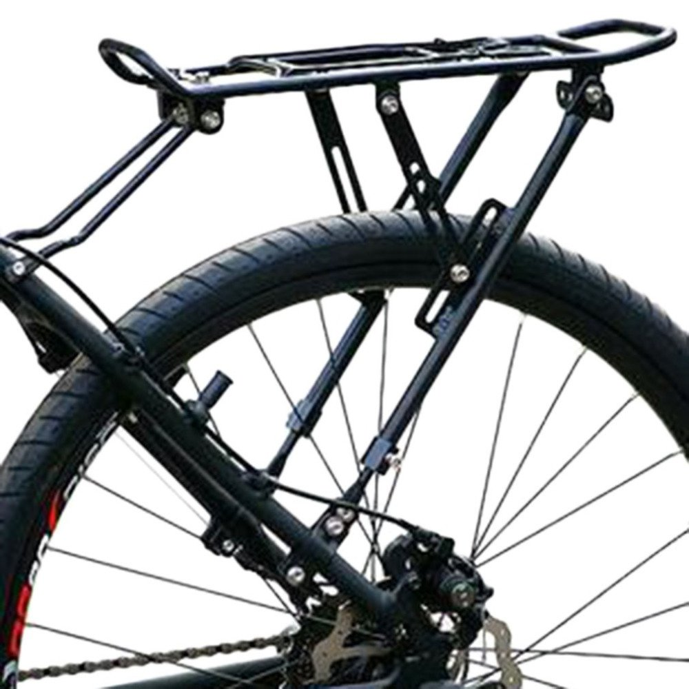 CARACHOME Altura Ajustable Portabicicletas Trasero para Bicicleta Ciclismo Tija de sillín Bastidor Aleación de Aluminio MTB Alforja Portaequipajes Bastidor Carga máxima 65 kg: Amazon.es: Deportes y aire libre