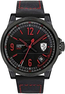 Ferrari Casual Watch for Men Leather Band, 830271