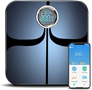 YUNMAI Smart Scale Body Fat Scale with New Free APP & Body Composition Monitor with Extra Large Display