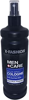 X- Fashion Men Care Eau De Spray Cologne Extra Fresh - 400ml