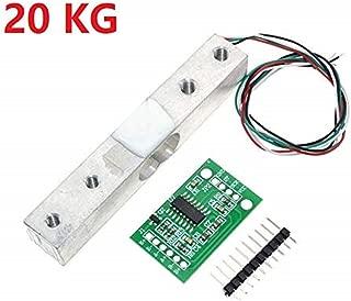 Bolsen Tech Digital Load Cell Weight Sensor 20KG Portable Electronic Kitchen Scale + HX711 Weighing Sensors Ad Module