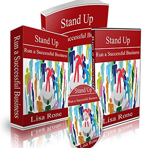 『Stand Up: Run A Successful Business (Read A Book MVMT.)』のカバーアート