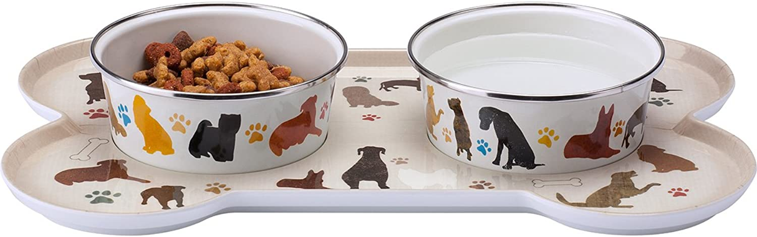 Highland Woodcrafters SitNStay Classic Small Dog Set for Small Dog