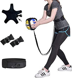 KIKIGOAL Volleyball Training Equipment Aid - Solo Practice for Serving and Arm Swings Trainer,Practice Overhand Serve, Spike, Arm Swings, Hitting
