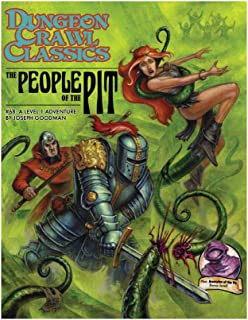 Goodman Games Dungeon Crawl Classics #68: The People of The Pit