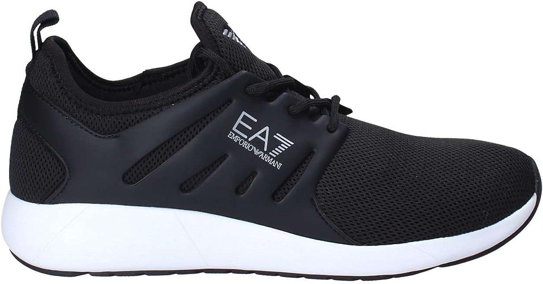 EA7 Minimal Minimal Minimal Runner Herren Sneaker Schwarz B079STRXF9 8ec0d6