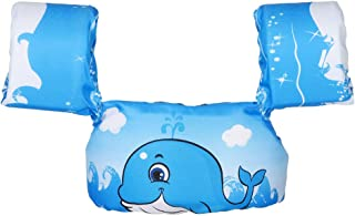 LIANTRAL Kids Swim Vest Swim Aid FloaterSwim Life Jacket with Arm Floaties Wings for 30-50 pounds Toddler,Girls and Boys,Puddle Jumperwith Adjustable Safety Strap