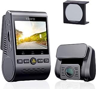 VIOFO Dashcam Autokamera A129 Duo Dual Full HD 1080P Wi Fi Front  und Rück Dash Cam Kompaktes Designmit mit GPS mit CPL Blendschutzfilter, IMX291 Starvis Sensor und Super Nachtsicht, 24h Parkmonitor
