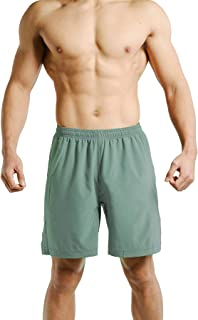 Mens Ultra Light Weight Workout Training Shorts Crossfit Side Pocket