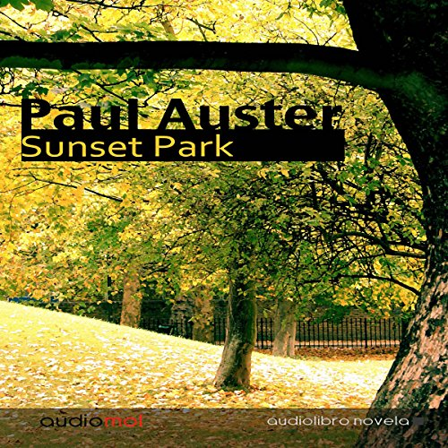 Sunset Park audiobook cover art