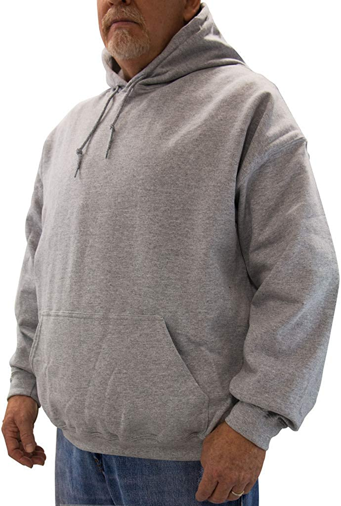NewportXL Big /& Tall Mens Fleece Pullover Hoodie Sweatshirt