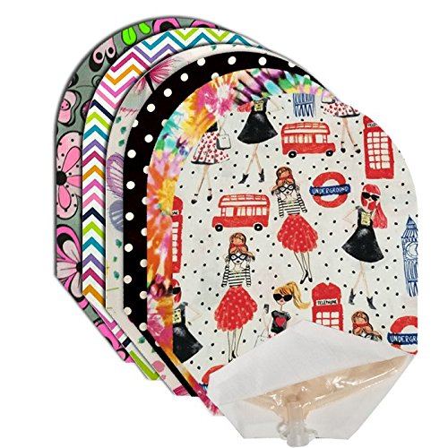 Sassy Pouch Covers Set of 6 Open End