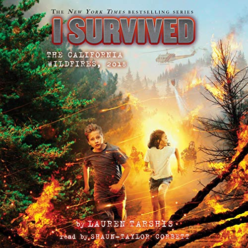 Page de couverture de I Survived the California Wildfires, 2018