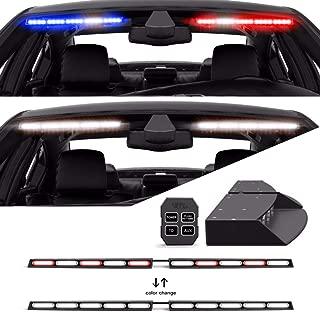 led visor light with takedown