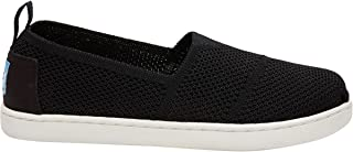 TOMS Kids Girls Knit Alpargata Espadrille (Little Kid/Big ...